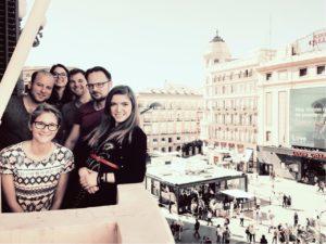 Startup Heatmap Team in Madrid, 2017