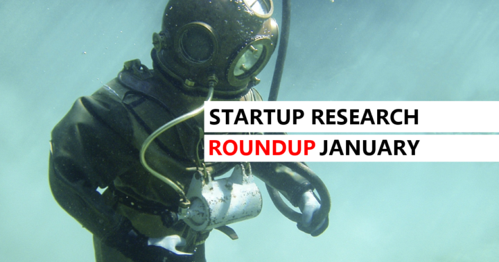 Startup Research Roundup January 2019