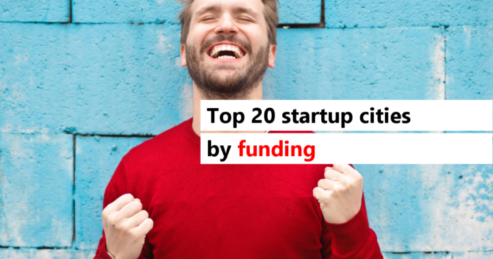 Top 20 Startup Cities by Investments