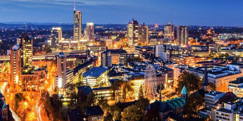 Skyline of Essen